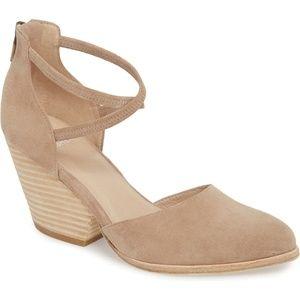 Eileen Fisher Tilda Stacked Heel Pump Size 8